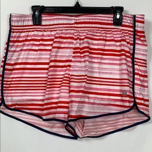 Tommy Hilfiger red/pink workout shorts size Lg.